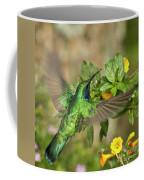 Flying Green Violetear Coffee Mug