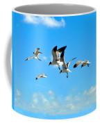 Flying Gulls Coffee Mug