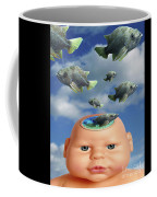 Flying Head Fish Coffee Mug