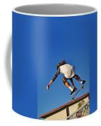 Flying High - Action Coffee Mug by Kaye Menner