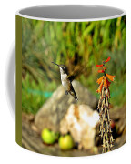 Flying Hummingbird Coffee Mug