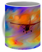 Flying Into A Rainbow Coffee Mug