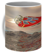 Flying Just Above The Waves Coffee Mug