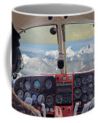 Flying Over North Cascades Coffee Mug