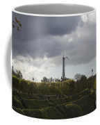 Flying Over The Tuileries Coffee Mug