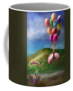 Flying Pig - Child - How I Wish I Were A Bird Coffee Mug