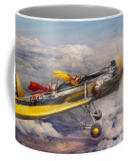 Flying Pig - Plane - The Joy Ride Coffee Mug by Mike Savad
