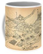 Flying Polly Over Capira Coffee Mug