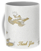 Flying Ruffed Grouse Thank You Coffee Mug