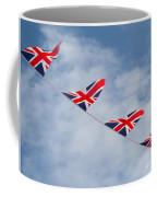 Flying The Union Jack Coffee Mug