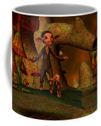 Flying Through A Wonderland Coffee Mug