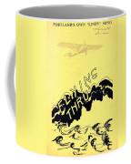Flying Thru Coffee Mug
