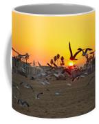 Flying To The Rising Sun Coffee Mug
