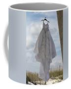Flying Wedding Dress 4 Coffee Mug