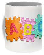 Foam Alphabet Shapes Coffee Mug
