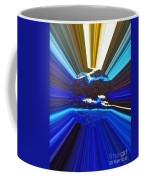 Focus On Blue Coffee Mug
