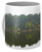 Fog Along The River Coffee Mug