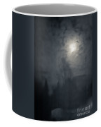 Fog And Moon Coffee Mug