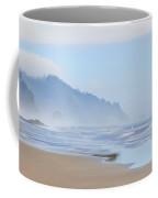 Fog At The Beach Coffee Mug