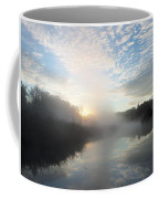 Fog Covered River Coffee Mug