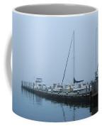 Fog On The Marina - Jersey Shore Coffee Mug