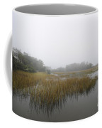 Fog Over The Marsh Coffee Mug