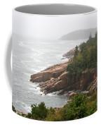 Fog Over The Sea  Coffee Mug