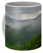 Fog Over The Smokies Coffee Mug