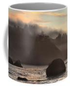 Fog Over Trinidad Coffee Mug
