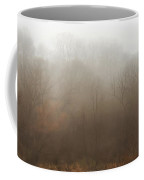 Fog Riverside Park Coffee Mug by Scott Norris