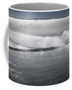 Fog Shrouded City Coffee Mug