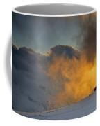 Foggy At Sunset 3000 Meters Coffee Mug