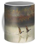 Foggy Autumn Morning Coffee Mug