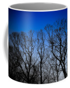 Foggy Blue Morning Coffee Mug