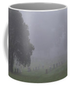 Foggy Cemetery Coffee Mug