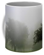 Foggy Country Landscape Coffee Mug
