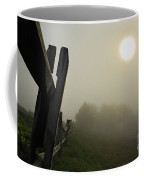 Foggy Country Road Coffee Mug