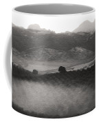 Foggy Countryside Coffee Mug