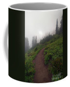 Foggy Crest Trail Coffee Mug by Mike  Dawson