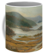 Foggy Day At Constitution Marsh Coffee Mug