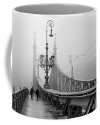 Foggy Day In Budapest Coffee Mug