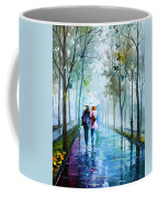 Foggy Day New Coffee Mug by Leonid Afremov