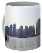 Foggy Day On The East River Coffee Mug