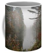 Foggy Fall River Coffee Mug