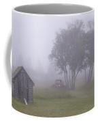 Foggy Farm Yard Coffee Mug