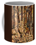 Foggy Forest Edge Coffee Mug