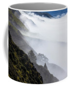Foggy Hillside Coffee Mug