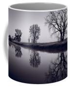 Foggy Morn Bw Coffee Mug