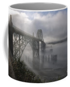 Foggy Morning In Newport Coffee Mug