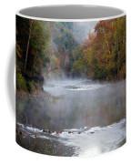 Foggy Morning On The Buffalo Coffee Mug